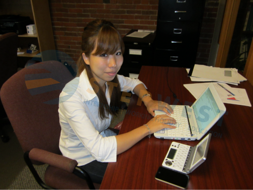 Nanami during her Finance Internship in Vancouver